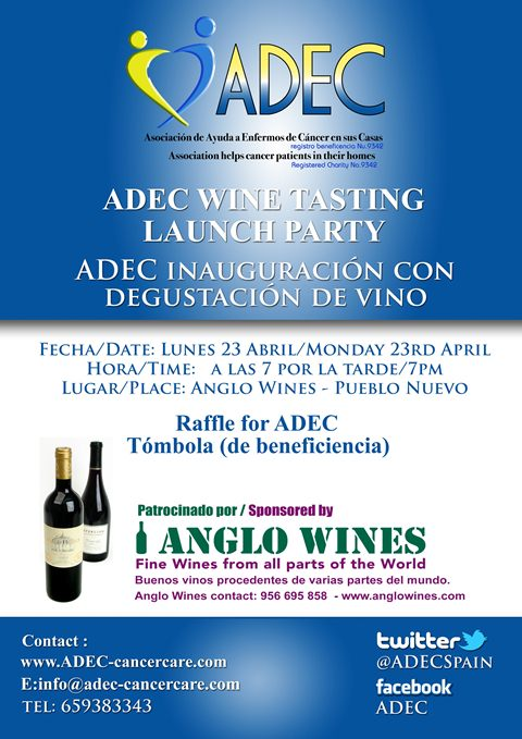 ADEC launch - Wine tasting party