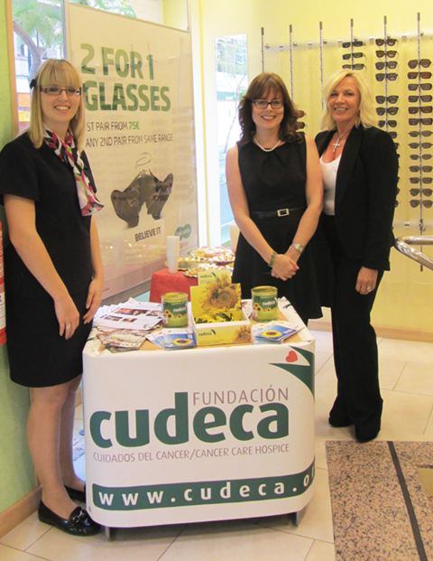 Cudeca at Specsavers