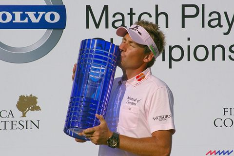 Ian Poulter - World Matchplay winner 2011