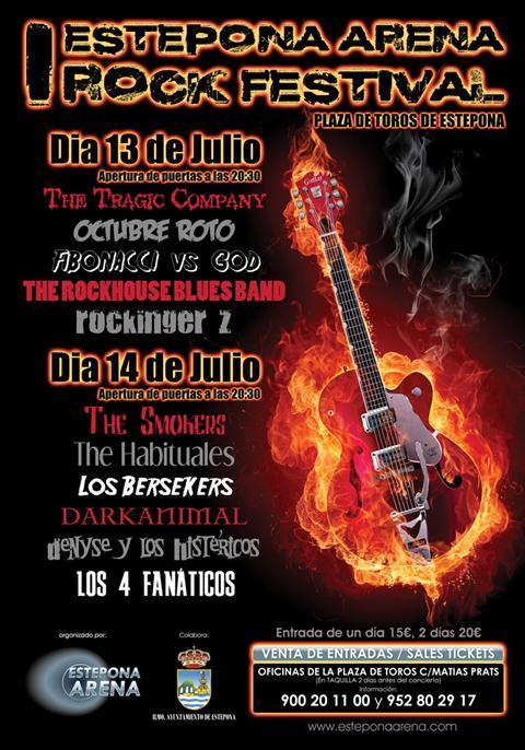 I Estepona Arena Rock Festival