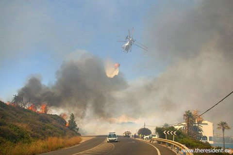 Torreguadiaro Fire