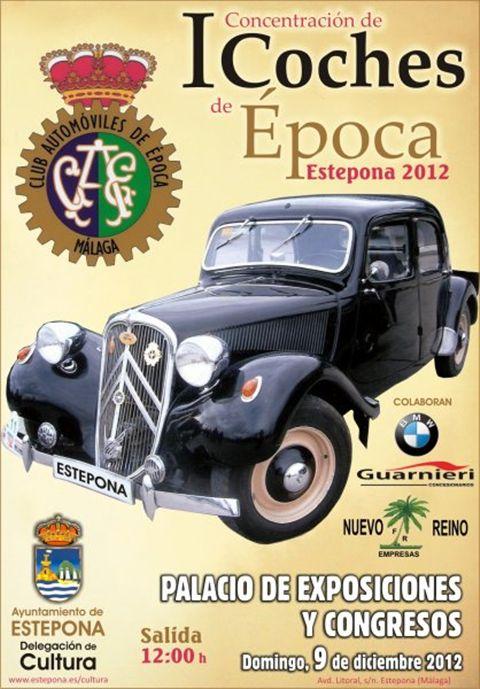 Estepona Vintage Car Rally