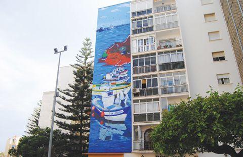 Almas del Mar mural