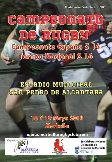 Rugby U16 championships programme
