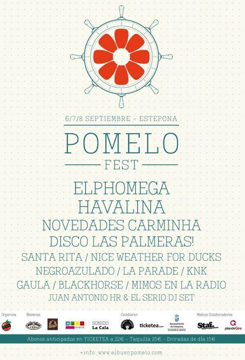 Pomelo Fest Poster