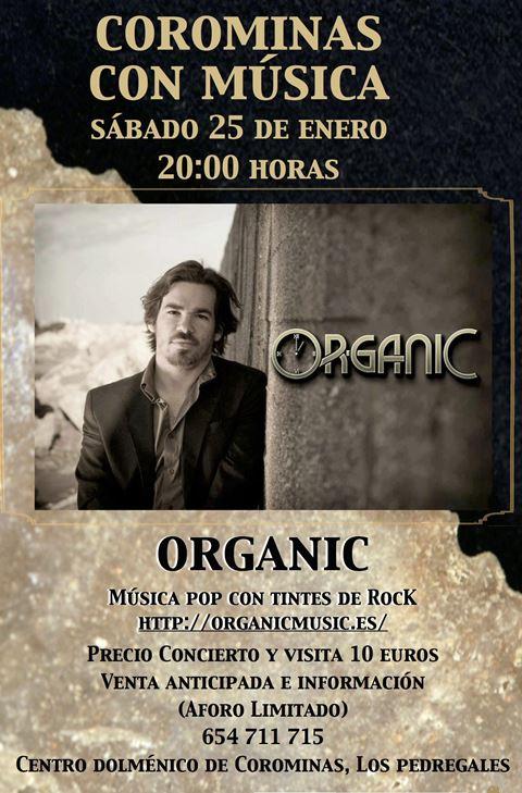 Corominas con Musica - Organic in concert