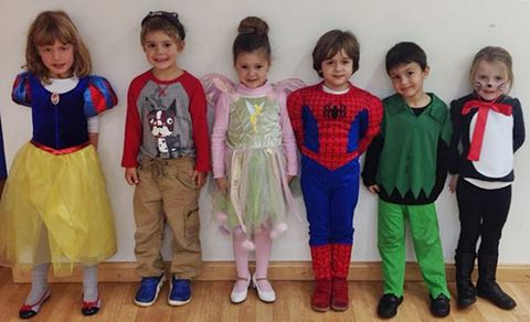 BSM youngsters dressing up as their favourite characters