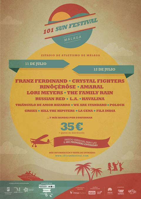 101 Sun Festival Poster