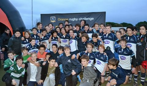 U16, U14 & U12 - Orange Rugby Challenge