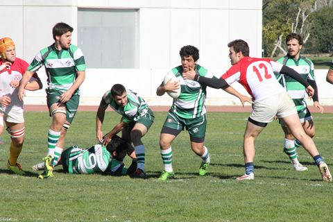 Andalucia U21 - Marbella player Daniel Camarero with the ball