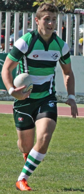 Andalucia U18 - Marbella player and try scorer Christian King