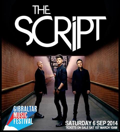 The Script at Gibraltar Music Festival