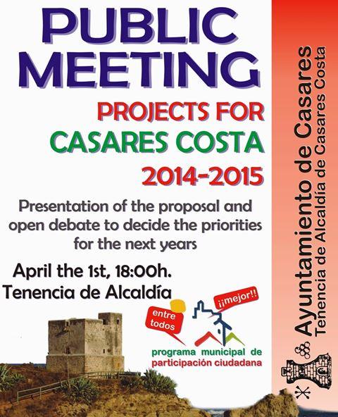 Casares Costa public meeting