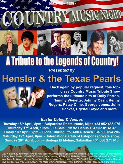 Hensler and the Texas Pearls poster