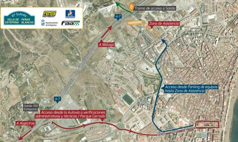 Motor racing Spanish hill climb championship comes to Estepona