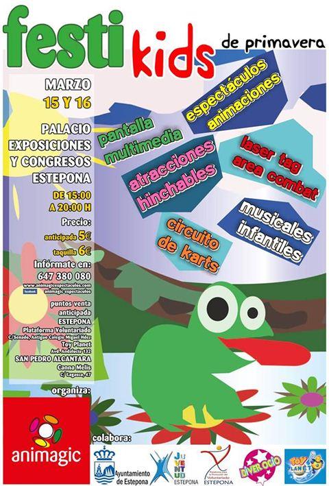 Festi Kids ce Primavera poster
