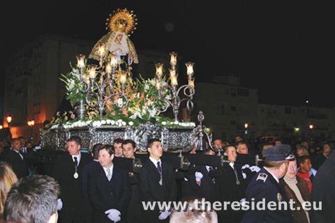 Semana Santa in Sabinillas