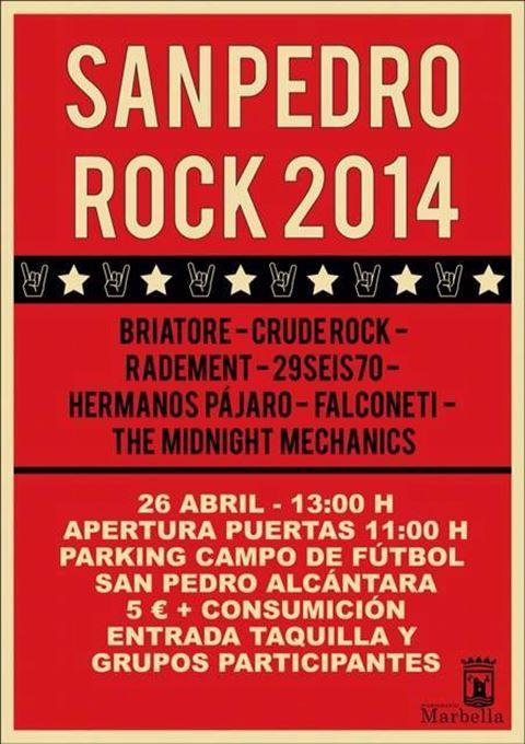 San Pedro Rock 2014