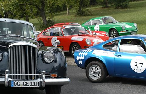Classicc Car Rally in Marbella
