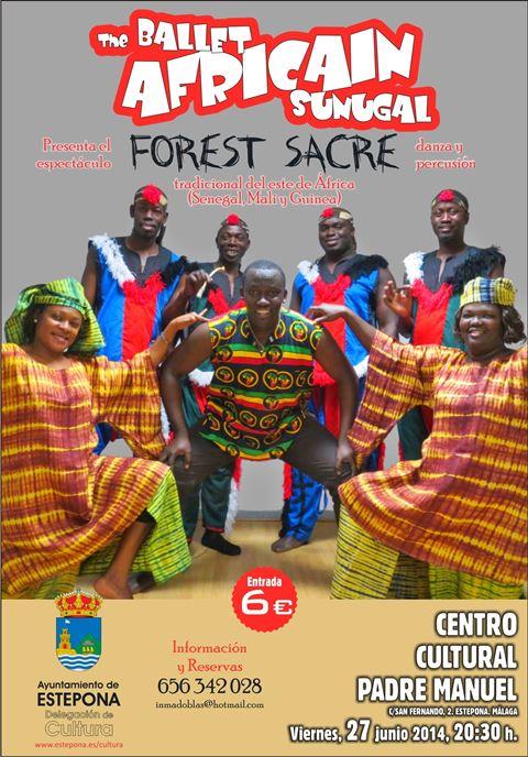 Ballet Africain Sunugal poster