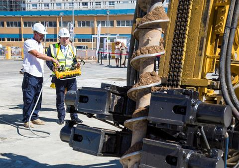 Breaking ground at the Gibraltar World Trade Centre
