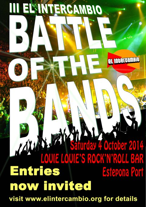 III El Intercambio Battle of the Bands Poster