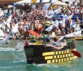 Sixth Outing for Gibraltar's Charity Cardboard Boat Race