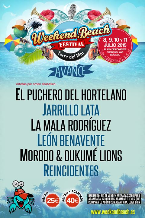 Weekend Beach Festival 2015