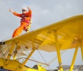 World's oldest wing-walker rounds the Rock this weekend