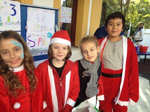 Pupils got into the festive spirit at BSM