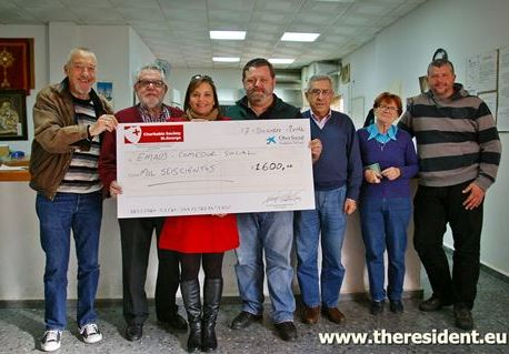 Duquesa Charitable Society of St George donates 1600 euros to Emaus