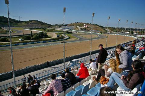 Formula One testing in Jerez de la Frontera