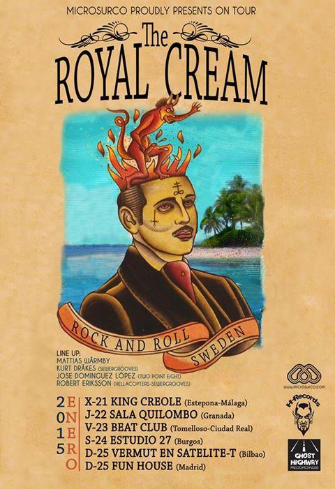 Royal Cream Spain poster