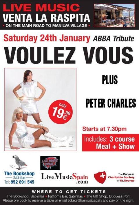 Voulez Vous ABBA tribute poster