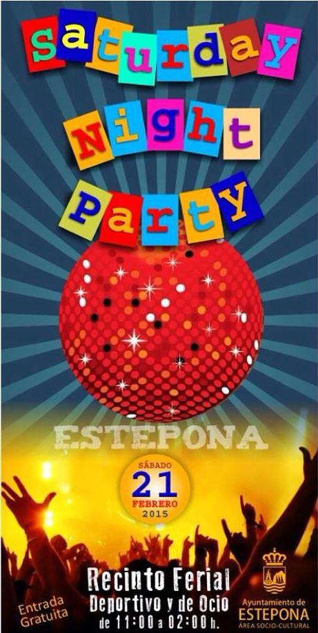 Saturday Night Party in Estepona