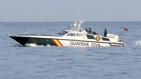 Guardia Civil customs launch