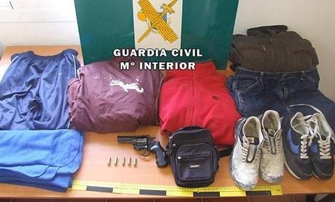 Manilva armed robber