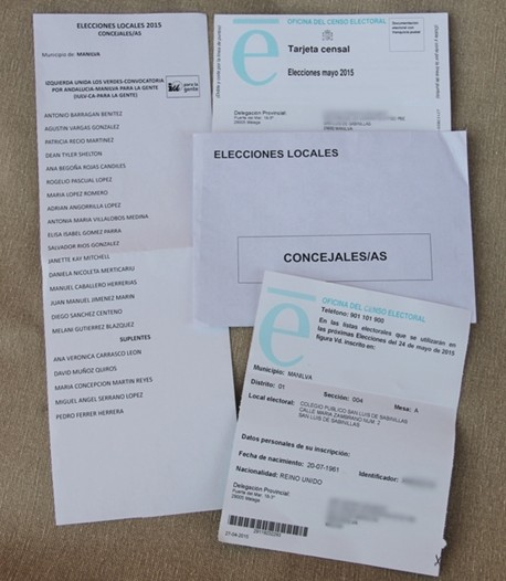 A guide to voting in the Spanish local elections