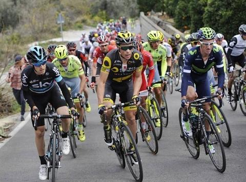 Ruta del Sol Vuelta Ciclista a Andalucia Estepona