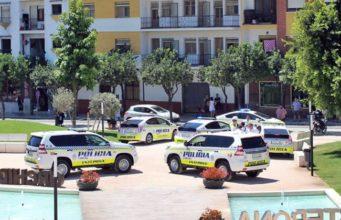 Police cars estepona