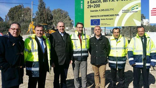 Casares Gaucing roadworks