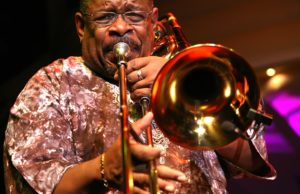 Trombonist Fred Wesley
