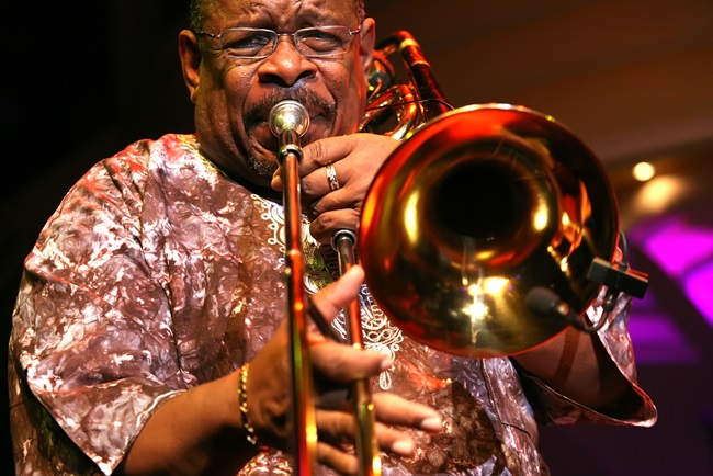 Trombonist Fred Wesley