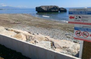 Casares dog beach