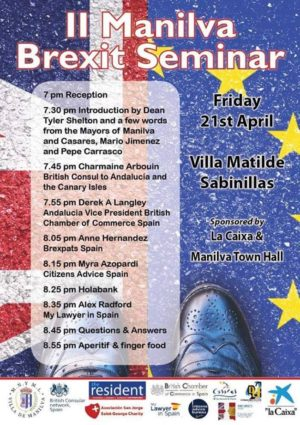 II Manilva Brexit Seminar