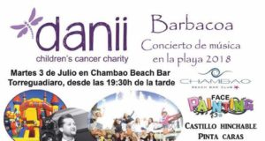 Danii Charity beach barbecue