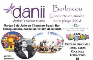 Danii Charity beach barbecue