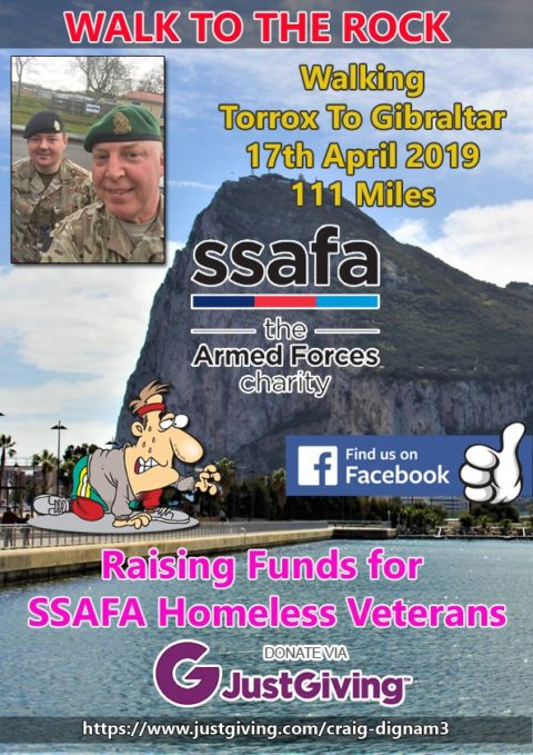 Walk to the Rock for SSAFA
